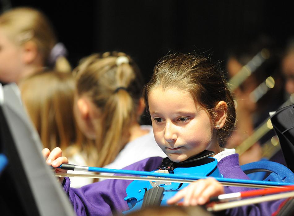 Schools music festival.